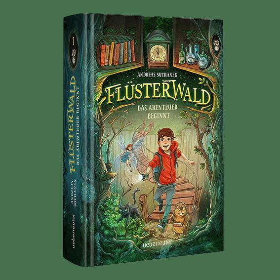 Flüsterwald - Das Abenteuer beginnt von Andreas Suchanek (Favicon 2)